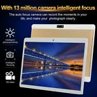 """10.1"""" WIFI Tablet HD 8 512GB Tablet Android 8.0 Pad Quad Core GPS Dual Camera"""