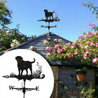Weather Vane Roof Mount Wind Direction Indicator Metal Weathervane Garden