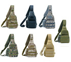 Chest Bag with Water Bottle Cover Leisure Outdoor Sports Camouflage Shoulder Bag