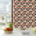 Hot 6pcs Home Decor Self Adhesive Wall Stickers Mosaic Tile Sticker Waterproof