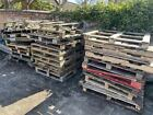 Used Wooden Pallets Garden Furniture Timber Recycle And Reclaim Collection Only