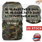 Camouflage Backpack Rain Cover Reflective and Waterproof for Hiking Bag S/M/L US
