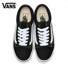 VANS OLD SKOOL BLACK/WHITE LOW SUEDE CANVAS CLASSIC MENS WOMENS SPORTS SHOES US