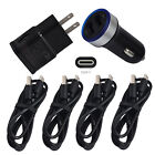 For Samsung Galaxy S8 S9 Note 9 8 A80 USB Cell Phone Charger Car Wall Plug Cable