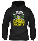 Hawaii Separation Anxiety Classic Pullover Hoodie - Poly/Cotton Blend