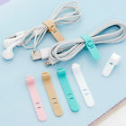 Cable Ties Phone Winder Earphone Clips Charger Cable USB Organizer 4Pcs