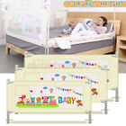 1.5/1.8/2M Baby Bed Rail Fence Guardrail Toddler Infant Adjustable Safety