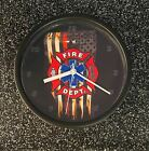 """Fire and Rescue 9"""" Wall Clock"""