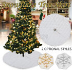 Christmas+Tree+Skirt+Xmas+Ornaments+Floor+Mat+Cover+Party+Holiday+Home+Decor