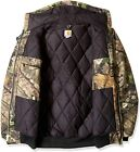 Carhartt Men's Big & Tall Quilted Flannel Lined Camo Active Jac