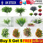 Artificial Silk Flowers Bunch For Wedding Party Home Outdoor Bouquet Decoration+
