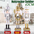 Christmas+Wooden+Soldiers+Nutcracker+Party+Drummer+Walnut+Ornaments+Decor+Gift