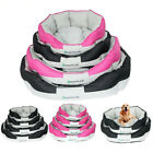 Deluxe Soft Washable Dog Pet Warm Basket Bed Cushion Available all year round UK