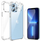 For iPhone 13 Pro Max 13 Mini Case Hybrid Clear Cover,HD Screen,Camera Protector