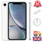 Apple iPhone XR - 64GB/128GB - Black/White (Unlocked) A2105 (GSM) Good Condition