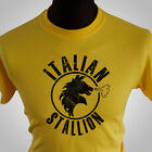 Italian Stallion Rocky Balboa Retro Movie T Shirt  Boxing 80's Rocky III