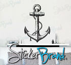 Vinyl Wall Decal Sticker Antique Ship Anchor