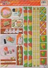 JUMBO 8.5x11 Sticker Sheets BORDERS & CORNERS Choice