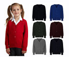 School Uniform Button Knitted Cardigans 9 colour Maroon