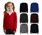 School Uniform Button Knitted Cardigans 9 colours Black