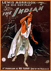 Vintage Theater POSTER.Stylish Graphics.The Indian.Room Art Decor. 1161
