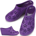 New Trend Purple Wedge-Heel Womens Jelly Shoes