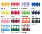 Berisfords Gingham Ribbon 25mm x 3 metres - Choice of colour