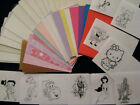 COOL CARDZ  REFILL 50 POUCHES + NEW PRINTED INSERTS****FAB***FAB***FAB
