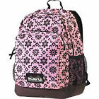 Kavu Samish Backpack- colors Navy- Plum Dots, Powder Pink-Black  1750 cu in
