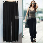 New Womens Pants Split Skirt Casual Pants #GF0454