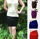 New Womens Ladies Satin Skirt Mini Skirt AU 6 ~ AU 22 GF0640