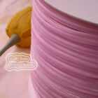 "3mm 1/8"" Pink Velvet Ribbons Craft Sewing Trimming Scrapbooking #36"