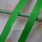 50 Yards Green Grosgrain Ribbons Sewing Scrapbooking Craft 6mm,10mm,15mm #108