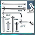 Chrome Fixed Shower Head Arms - Wall & Concealed Ceiling Mounted - Short & Long