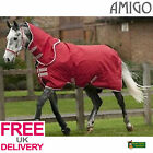 Horseware Amigo 600D Lite Plus (with neck) Red **BNWT** **FREE UK SHIPPING**