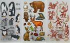 STICKO Assorted STICKERS Choice Scrapbooking ANIMALS INSECTS FISH PETS & MORE