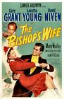 Vintage Old Movie Poster The Bishop's Wife 1947 Print Art A4 A3 A2 A1