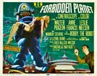 FORBIDDEN PLANET CLASSIC B-MOVIE REPRODUCTION ART PRINT A4 A3 A2 A1