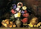 Flowers and Fruits Picture Reproduction Art Print A4 A3 A2 A1