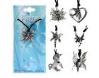 NICKEL FREE PEWTER FAIRY / UNICORN PENDANT WITH CORD-VARIOUS ONES TO CHOOSE FROM