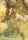 The Magic Cup Arthur Rackham 1913 Art Print A4 A3 A2 A1