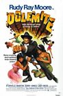 RUDY RAY MOORE IS DOLEMITE 01 B-MOVIE REPRODUCTION ART PRINT A4 A3 A2 A1