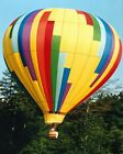 HOT AIR BALLOON FLYING BAL070 REPRODUCTION ART PRINT A4 A3 A2 A1