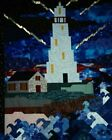 Abstract Lighthouse ART068 Reproduction Art Print A4 A3 A2 A1