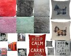 "PLAIN CUSHION COVERS 18""X18"" OR 17""X17"" INCHES LOUNGE ROOM / BEDROOM / SOUVENIRS"