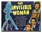 THE INVISIBLE WOMAN 04 VINTAGE B-MOVIE REPRODUCTION ART PRINT A4 A3 A2 A1