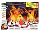 THE INVASION OF BODY SNATCHERS 03 B-MOVIE REPRO ART PRINT A4 A3 A2 A1