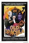 OLD DRACULA 03 VINTAGE CLASSIC B-MOVIE REPRODUCTION ART PRINT CANVAS A4 A3 A2 A1