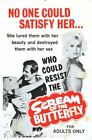 SCREAM OF THE BUTTERFLY 01 B-MOVIE REPRODUCTION ART PRINT CANVAS A4 A3 A2 A1