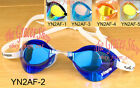 Mirrored Professional Racing Swimming Goggles Anti Fog UV  Protection black blue